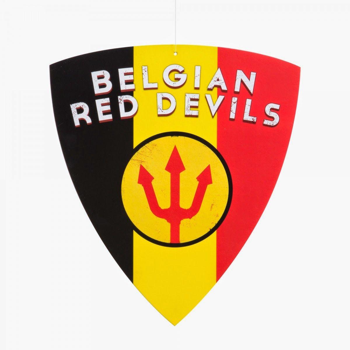 Rode Duivels Voetbal Feestje Voetbal Logo S