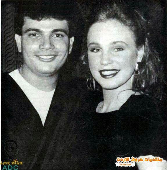 Amr Diab With His First Wife Sherine Reda Movie Stars Reda Amr