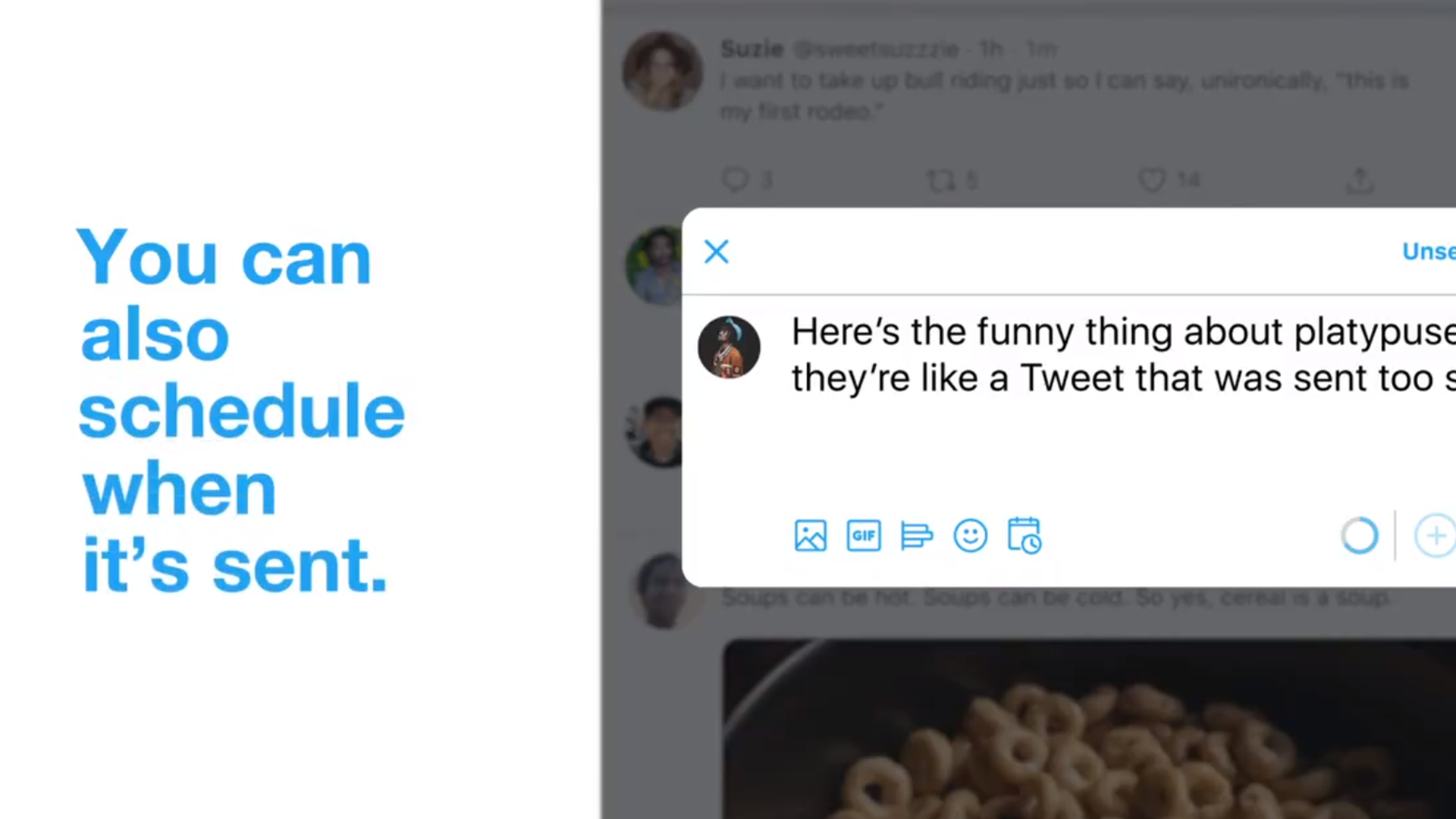 Twitter Announces TweetScheduling Drafts for Web Users
