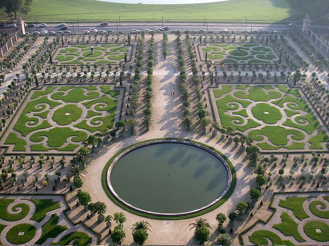 Jardin De L Orangerie Versailles Castle Jardim Versalhes