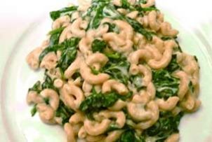 Baked Macaroni, Cheese and Spinach Recipe