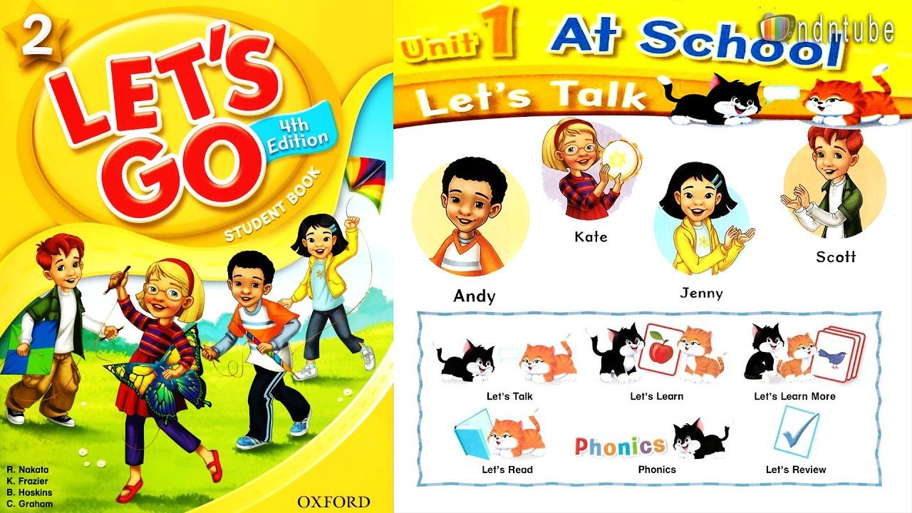 let s go 2 unit 1 at school 4th edition youtube 子供英語学習