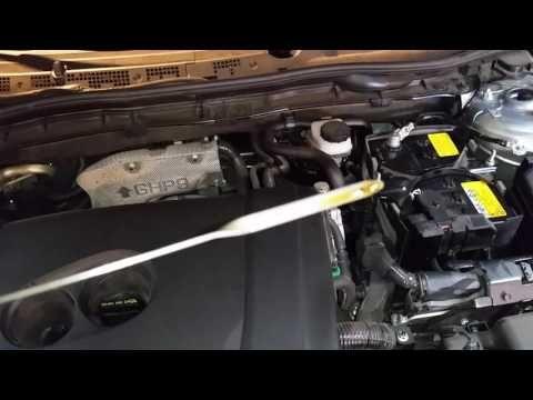 Great 2014 2018 Mazda Mazda6   Checking Engine Oil Level After Oil Change    SkyActiv 2.5L I4 Motor   YouTube