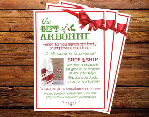 the gift of arbonne