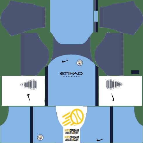 Kits Manchester City Dream League Soccer 2020 2019 En 2020 Uniformes Soccer Camisetas Manchester City
