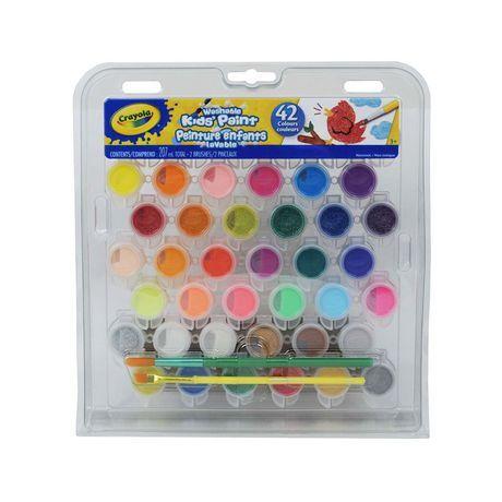Crayola Washable Kids Paint Set Multi Paint Set Crayola
