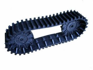 Rubber Track/Rubber Belt for Robot/Snowmobile | ESSA: DIY
