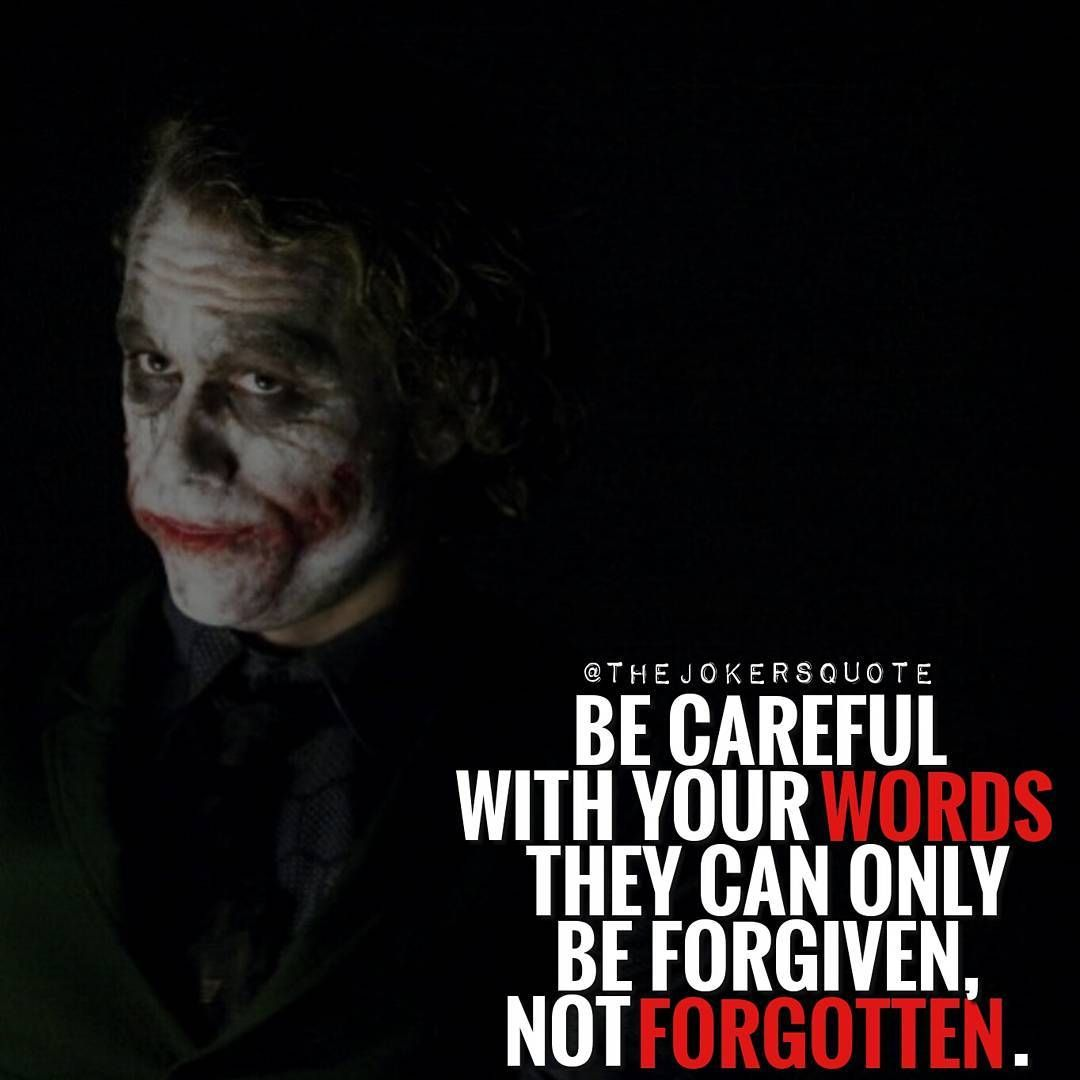 874 Likes 4 Comments Joker Quotes Thejokersquote On Instagram Careful Must Follow Joker Forever Joker Quotes Villain Quote Heath Ledger Joker Quotes