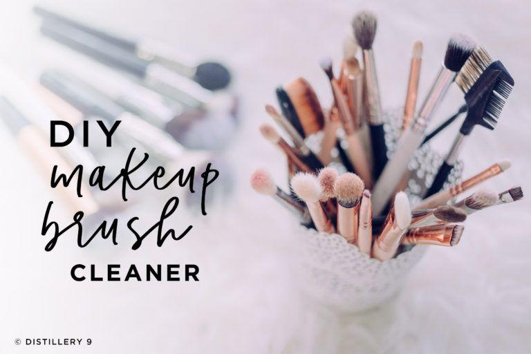 Photo of DIY Makeup Brush Cleaner – DISTILLERY 9