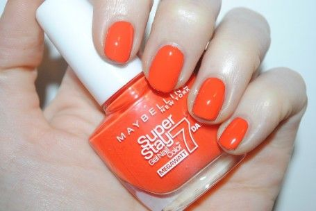 Maybelline Forever Strong Super Stay 7 Day Gel Nail Colour Mega Watt Pastels Review Swatches Really Ree Nail Colors Gel Nail Colors Gel Nails