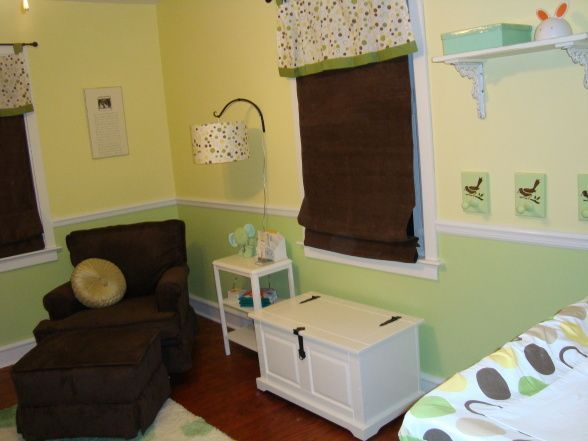 Green Nursery Themes With Circles Google Search