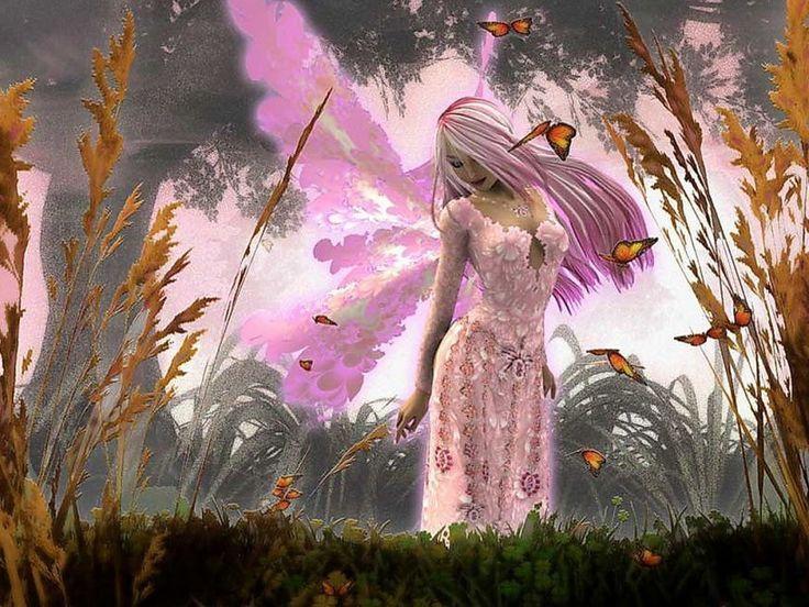 Imagenes De Hadas Enamoradas Bonitas23 Hadas Magicas Fairy