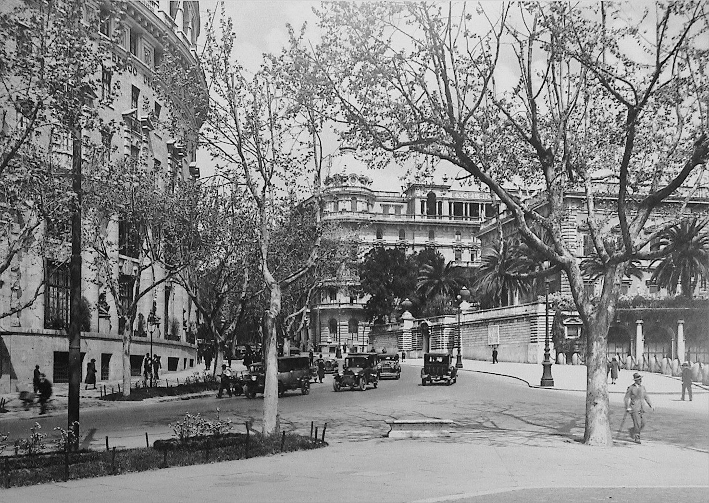 Roma via veneto nel 1911 roma rome italy bella roma for Complementi d arredo via veneto