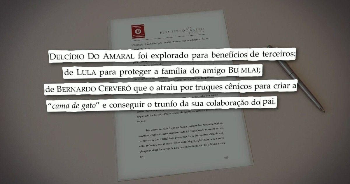 Delcídio diz que foi 'explorado para benefícios' de Lula e filho de Cerveró