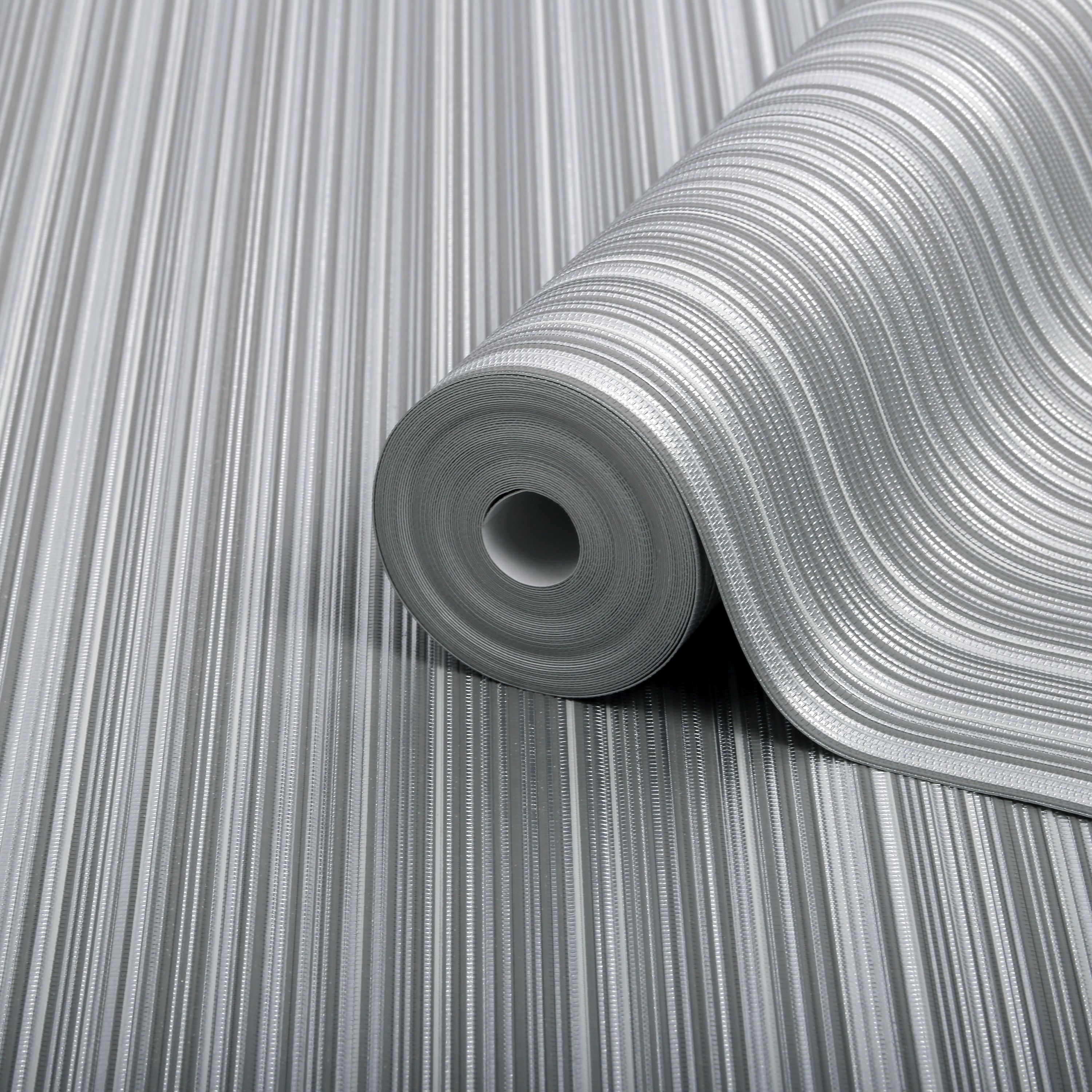 Boutique Palma Ice Striped Metallic Wallpaper B Q For All Your Home And Garden Supplies And Advice On All The Diy Wallpaper Metallic Wallpaper B Q Wallpaper
