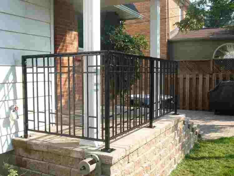 Arts Crafts Railing With Images Exterior Stairs Craftsman