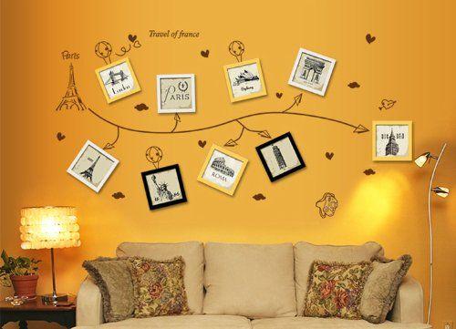 Decorazioni Murali Camera Da Letto : Stencil camera da letto matrimoniale muro stickers murali leone