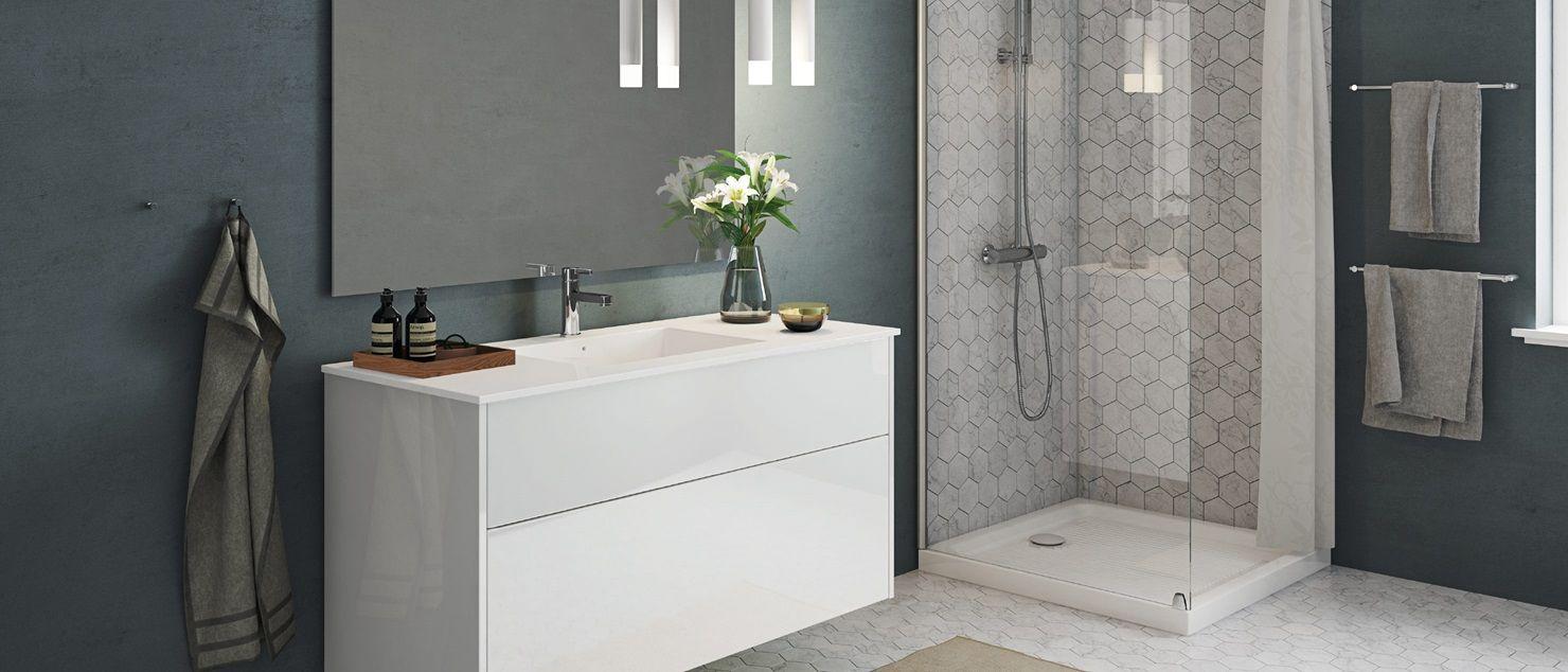 Senti Gloss | Een welkom aan de minimalistische badkamer. www.kvik ...