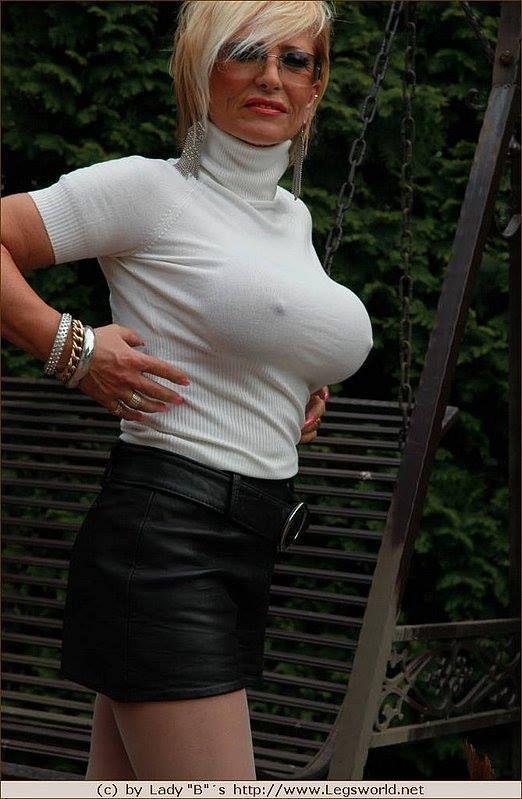 Heels high lady nude barbara