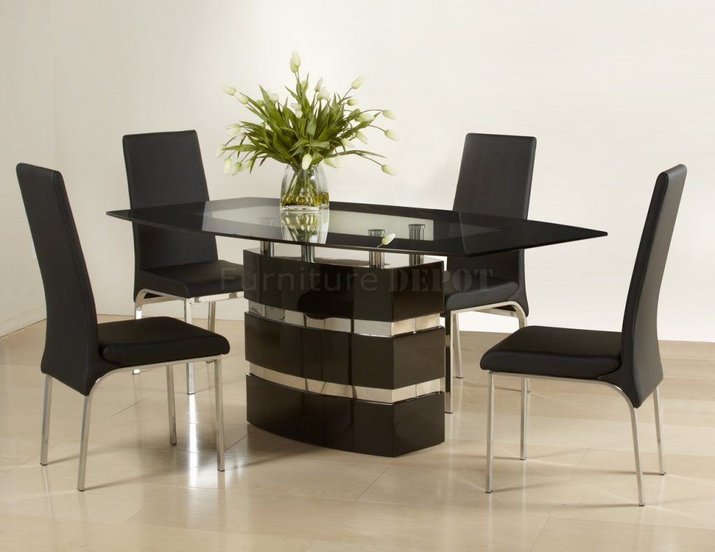 Contemporary Dining Table Sets Simple Mini Dining Table Chairs Style Kursi Makan Modern Kursi