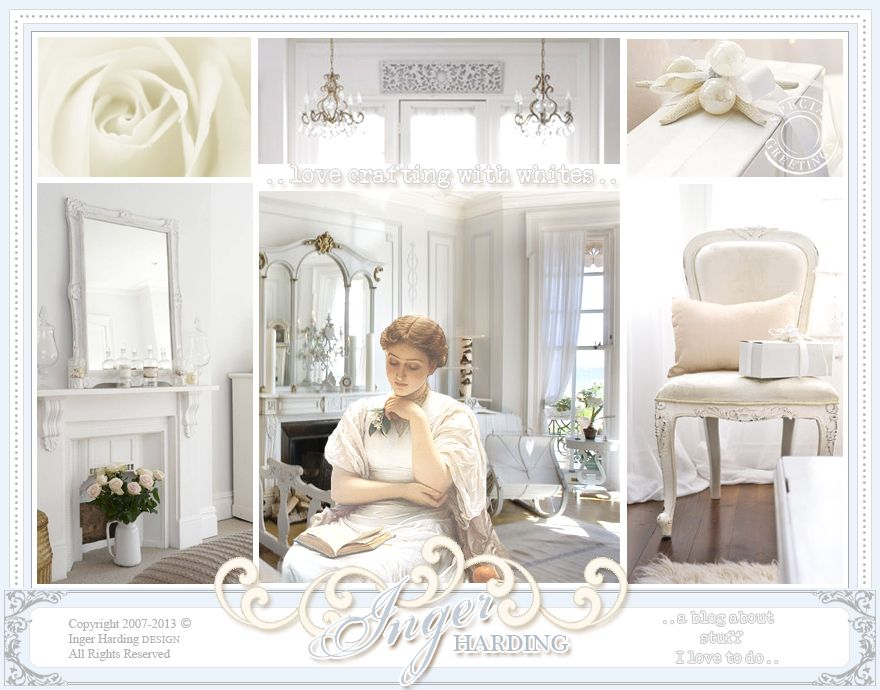 Visit my blog of shabby chic paper crafts, free digital stamps and product designs.