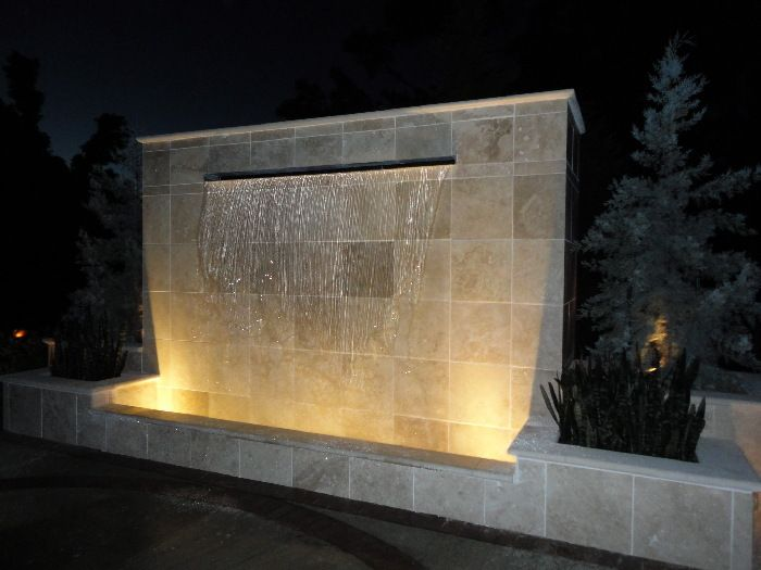 water walls for homes cast stone water feature interior design idea in - Interior Wall Water Fountains
