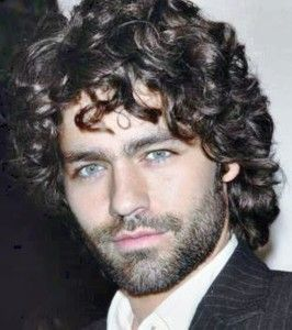 Curly Hairstyles Men Haircuts For Hair 2014 The Charming Medium Length Hairstyle