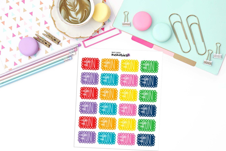 RUN TRACKING STICKER Paper Planner Stickers!
