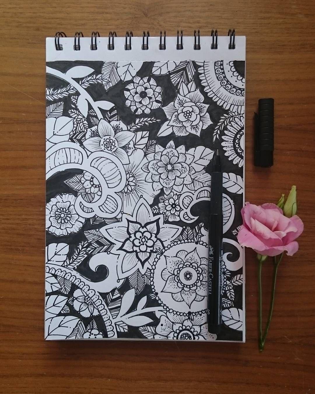 Good morning flowers... #art #kunst #draw #drawing #zeichnung #ink #blackandwhite #schwarzweiss #illustration #illustrations #flowers #blumen #artdaily2016 #artcollective #artdaily