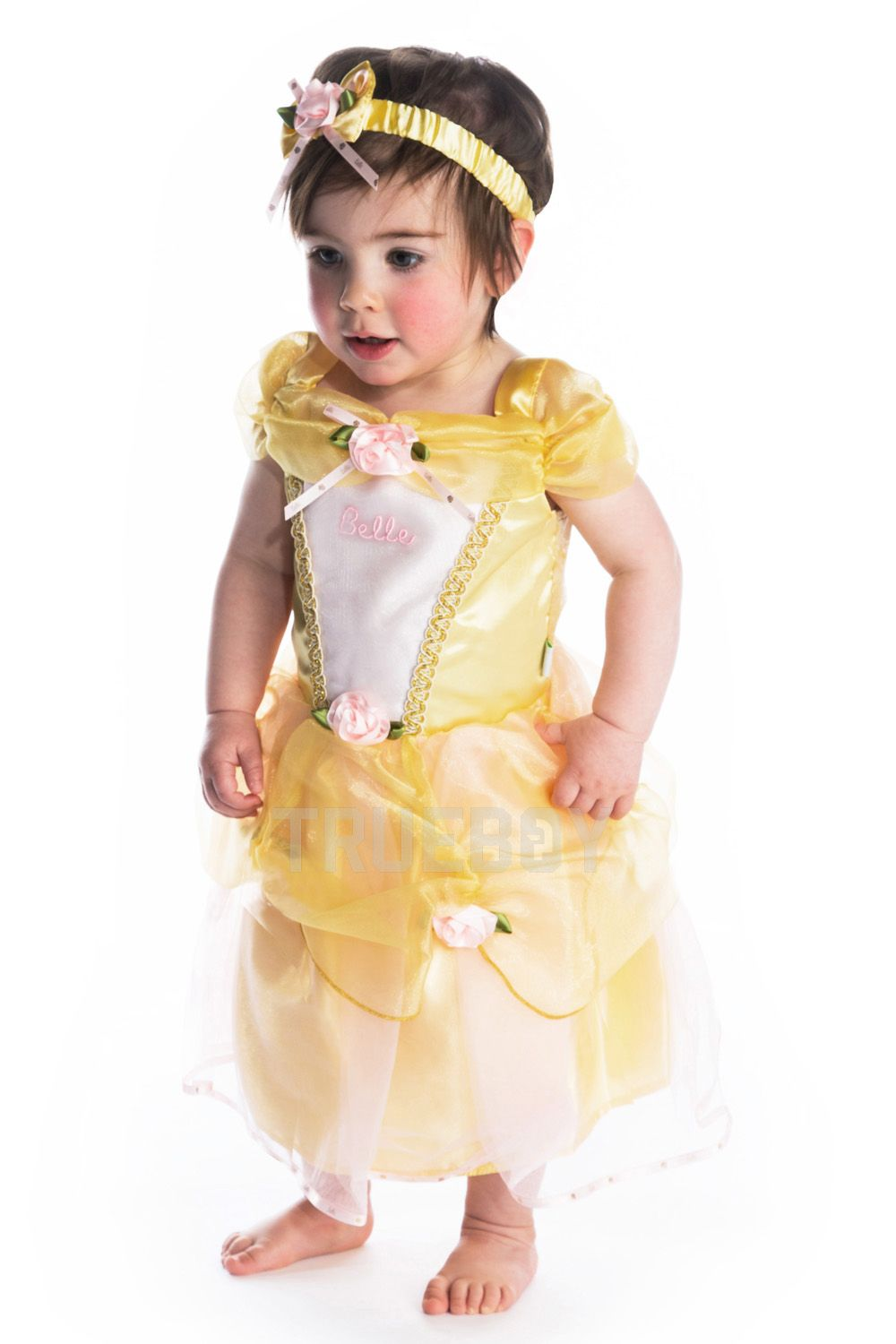 Tinker Bell Minnie Mouse Fancy Dress Costume Baby Girl Disney Princess Belle