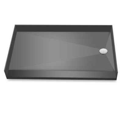 Redi Free Barrier Free 40 X 60 Shower Pan With Right Drain Black
