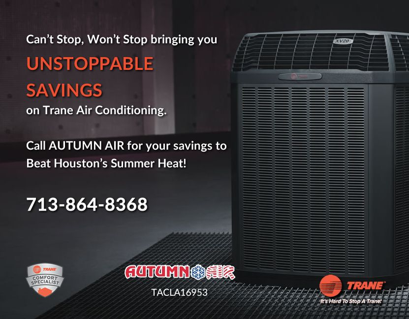 Can T Stop Won T Stop Bringing You Unstoppable Savings On Trane