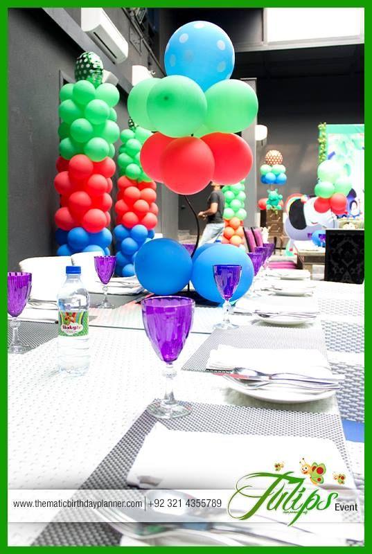 Babytv Themed Birthday Party Theme Planning Arrangements