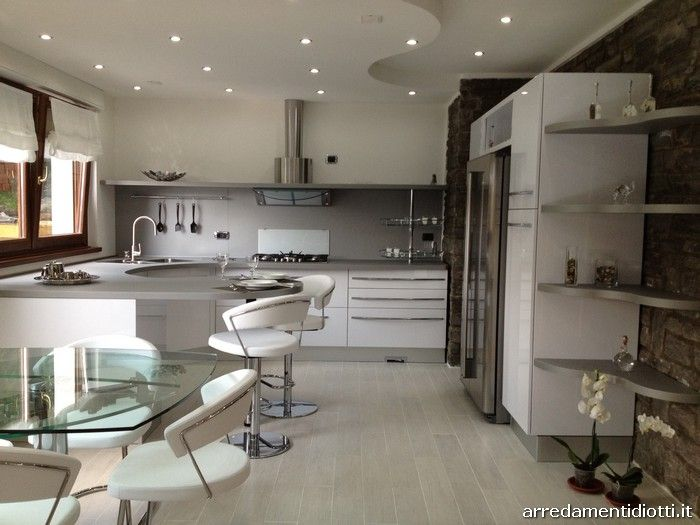 cucine moderne ad angolo con finestra - Cerca con Google | idee ...