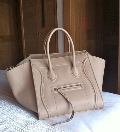 650e639218 celine phantom luggage tote in taupe (slightly darker than this color