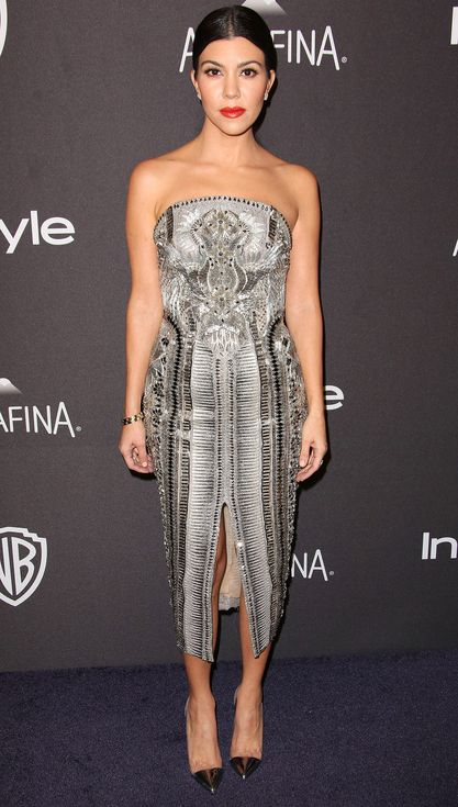 Golden Globes 2016: All the Dresses You Didn't See on the Red Carpet | kardashian