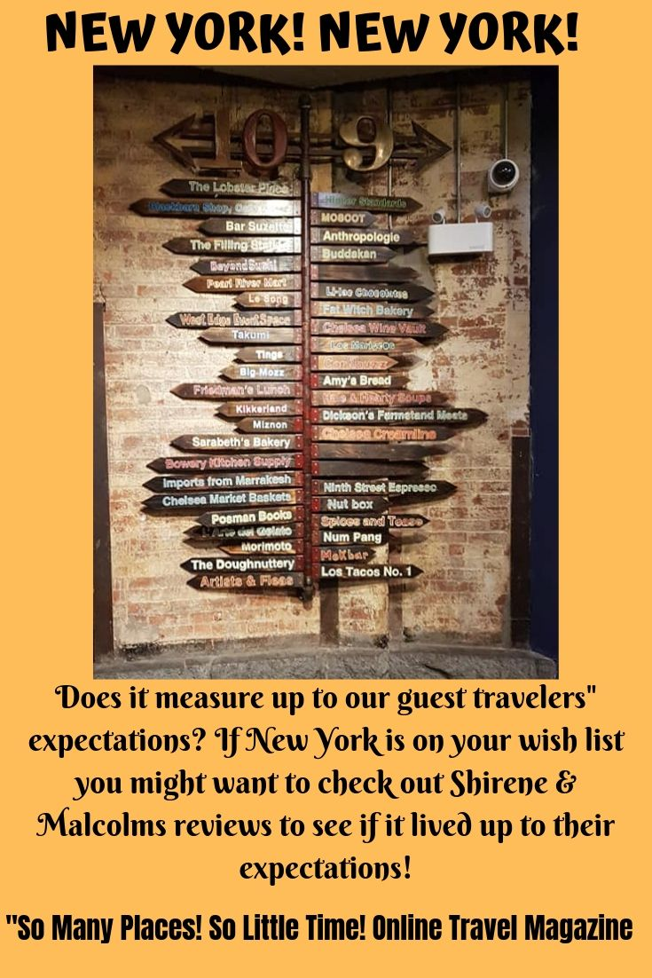If You're Planning A Trip To New York Anytime In The