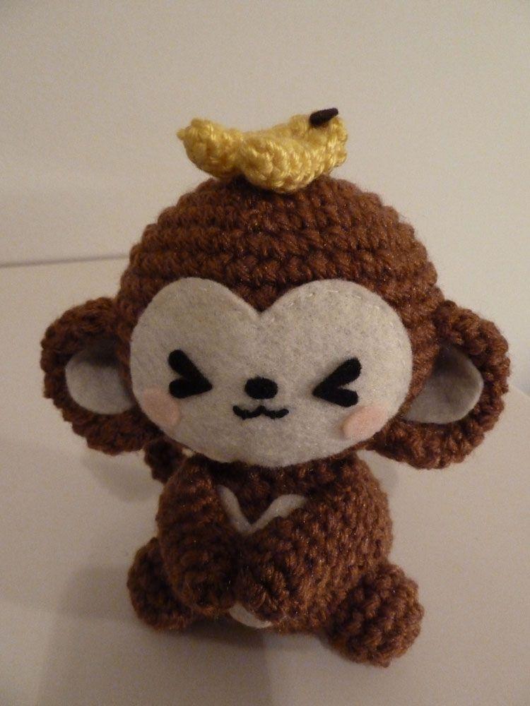 Cute Amigurumi Ideas : Too Freakin Cute! Amigurumi Monkeys Knits To Do ...