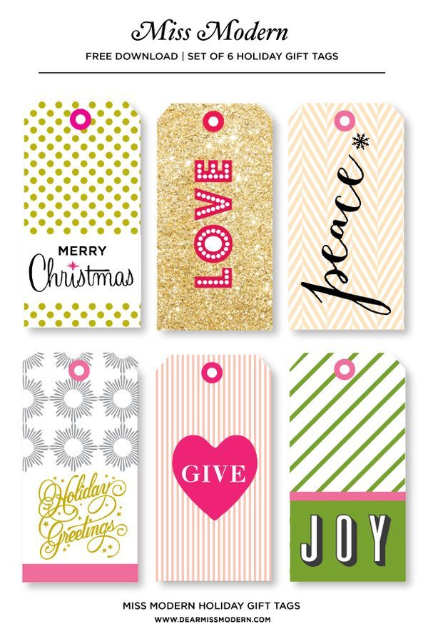 E479e31488c9e3653c918512c158eae4g 600888 pixels printables want some playful tags a gift from miss modern free printable holiday gift tags negle Choice Image