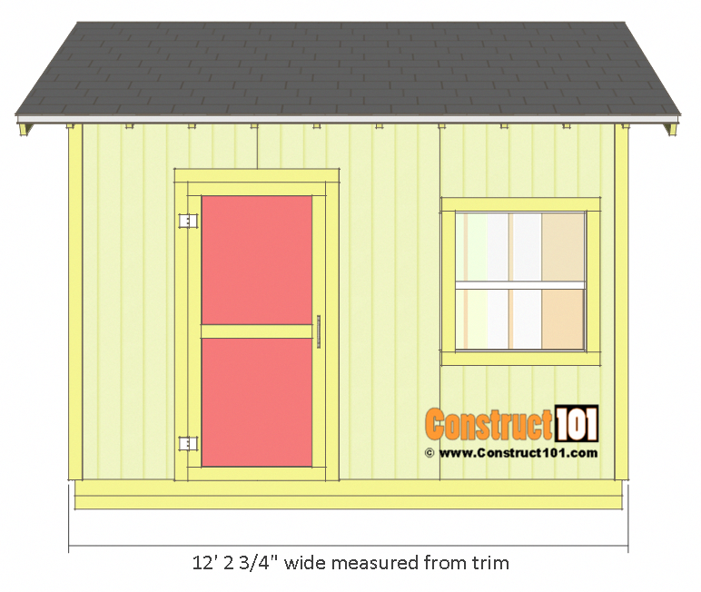 Photo of Shed Plans 10×12 Gable Shed – Step-By-Step – Construct101