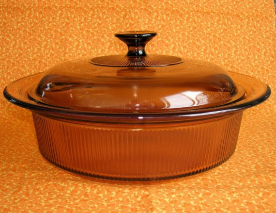 corning vision amber 2 5qt casserole dish w lid my corelle and pyrex pinterest casserole. Black Bedroom Furniture Sets. Home Design Ideas