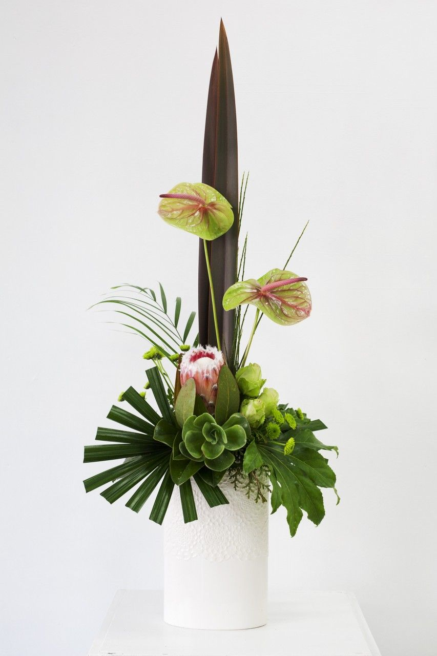 modern floral arrangements stylish modern flower