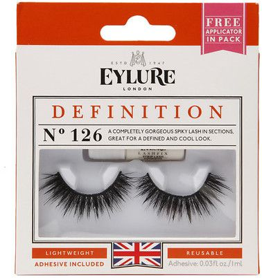 7b3fb76d59c Eylure Lash Set 1 pair Definition, No 126 | Lashes | Eylure lashes ...