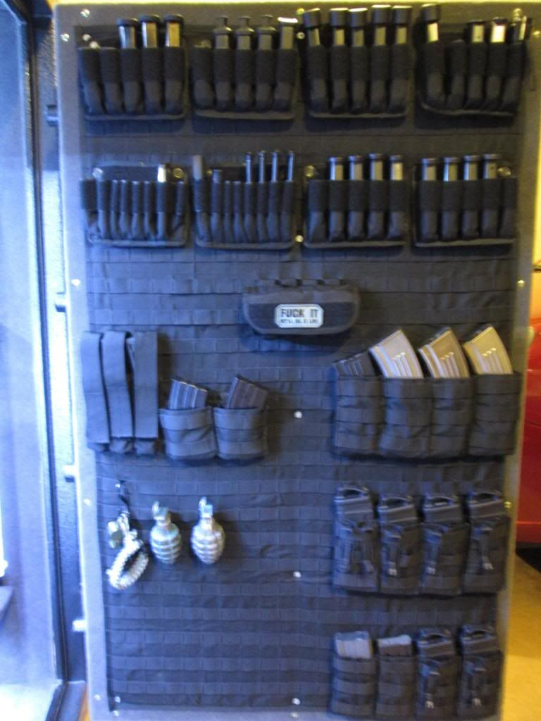 Pin On Gun Safe Molle Organizer
