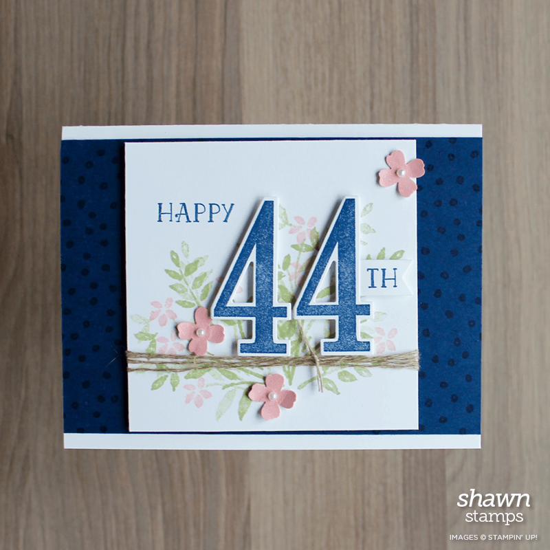 Number of Years for Pals Paper Arts PPA289 | ShawnStamps