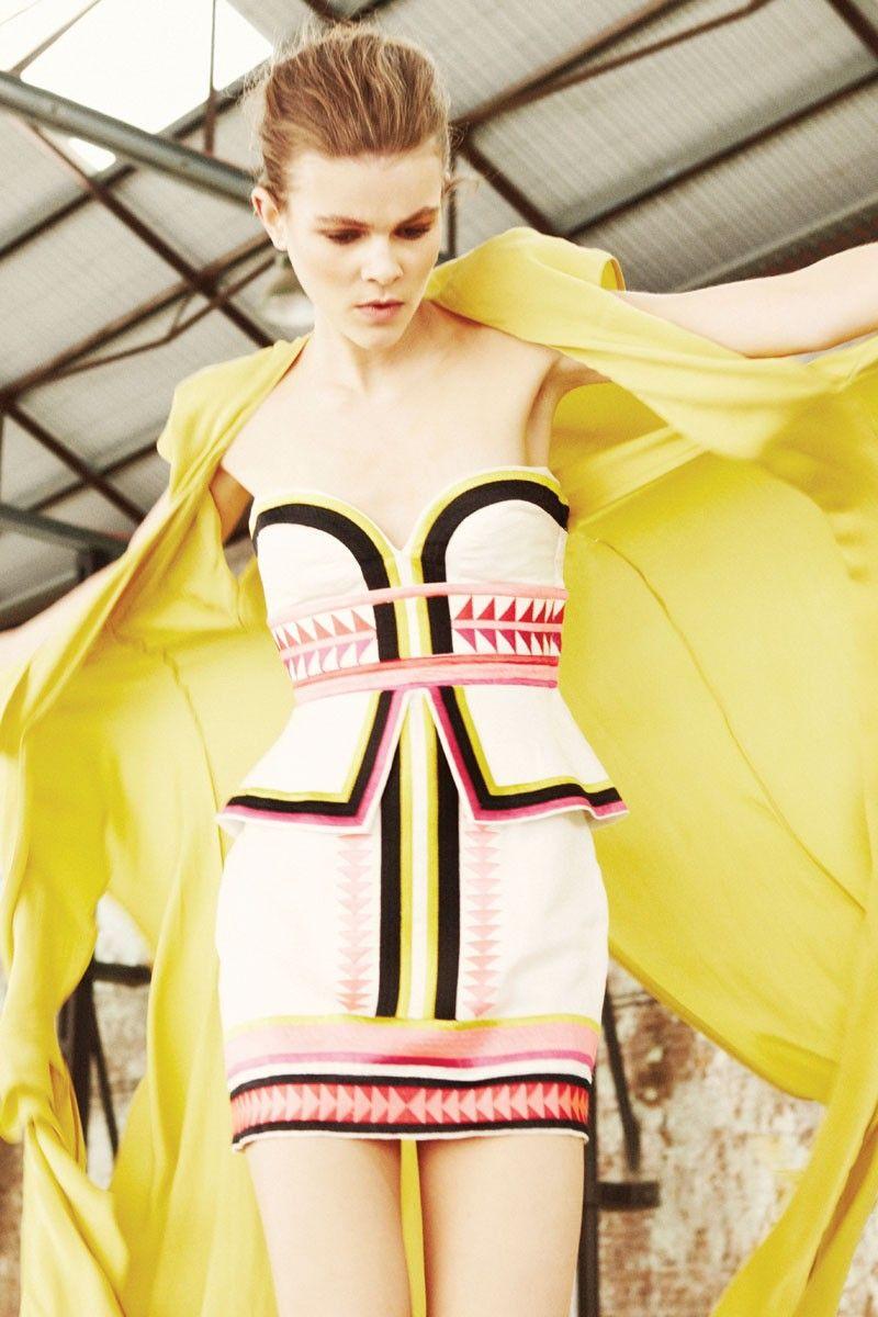 70d95b6c98 Sass   Bide - PICK  N  MIX dress 하이 패션