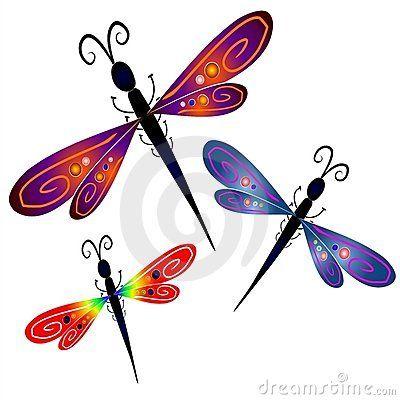 dragonflies | Dragonfly | Pinterest | Dibujo libelula, Pintura de ...