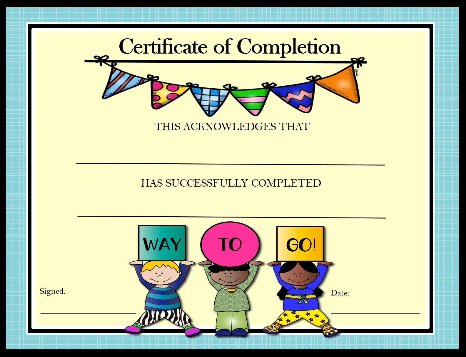 39++ Free preschool promotion certificates ideas