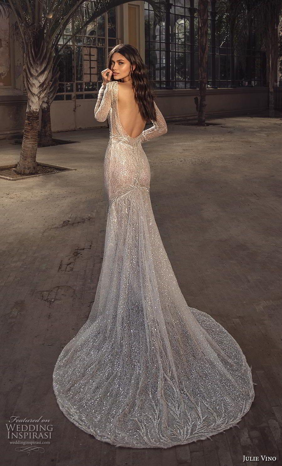 Julie Vino Spring 2020 Wedding Dresses Barcelona Bridal Collection Wedding Inspirasi Glitter Wedding Dress Julie Vino Wedding Dress Wedding Dresses [ 1485 x 900 Pixel ]