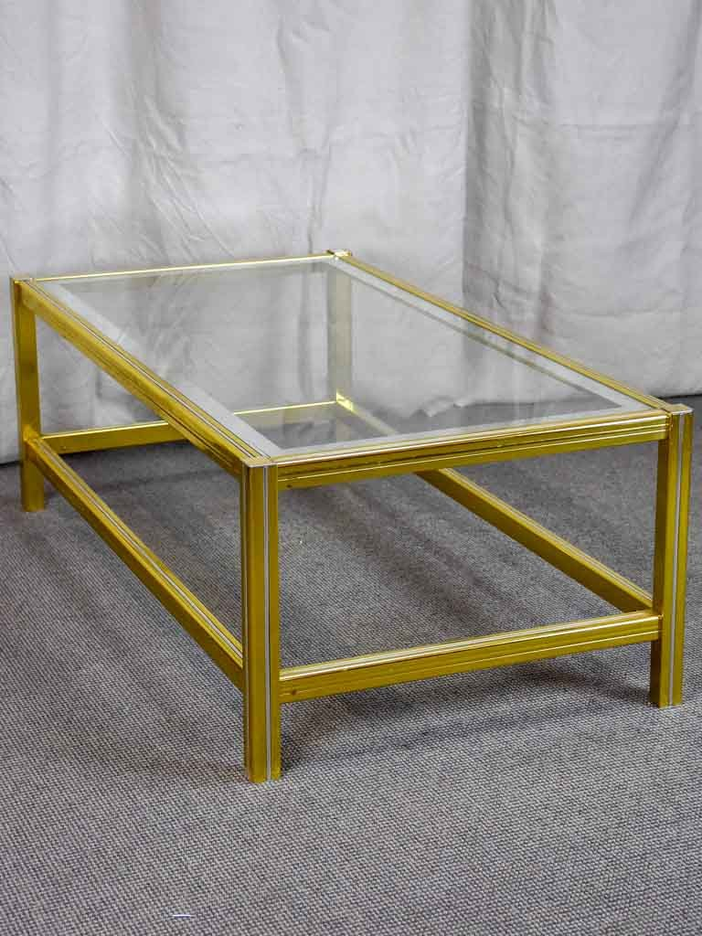 Vintage Glass Coffee Table Style Of Pierre Vandel Glass Coffee Table Styling Coffee Table Styling Table Style [ 1024 x 768 Pixel ]
